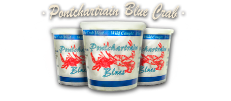 Pontchartrain Blue Crabs Logo